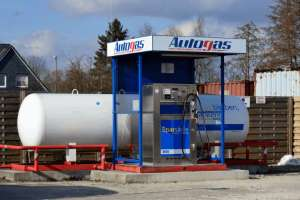 LPG Autogas Tankstelle
