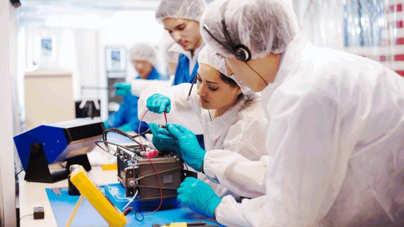 CubeSAT – Microsatelliten im Weltraum