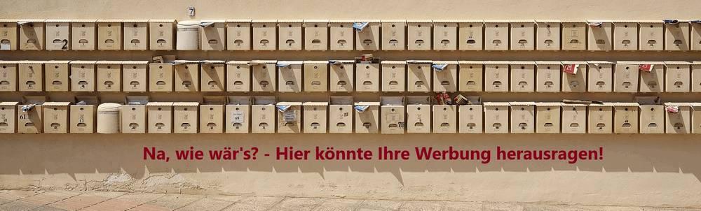 Werbung Banner Schmal Mitte