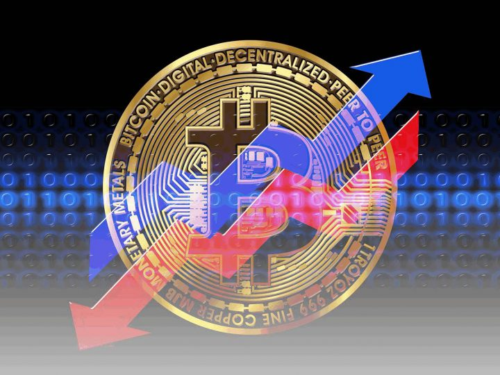 Bitcoin im Börsenhoch