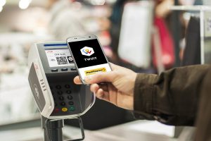 Mobile-Payment Twint an der Kasse