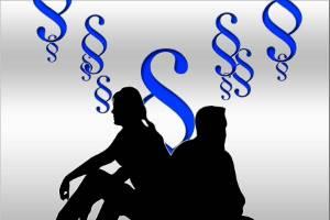 Scheidung und die Rechtsprechung