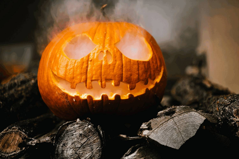 Halloween im Herbst ist auch Kürbiszeit