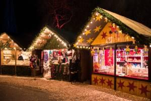 Marroni am Weihnachtsmarkt