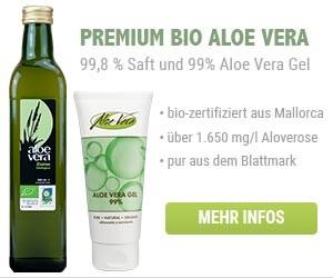 Aloe Vera Saft und Creme