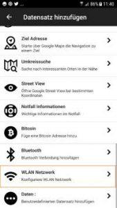 NFC Tag im WLAN-Netzwerk
