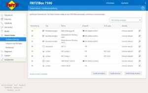 AVM Fritz!DECT 440 Smarthome Verwaltung