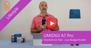 UMIDIGI A7 Pro Testvideo
