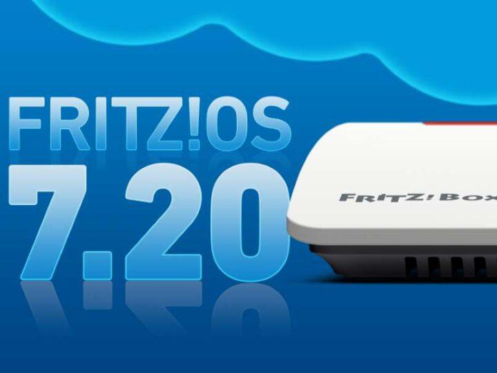 AVM FRITZ!OS 7.20 – WiFi-6 und WPA3