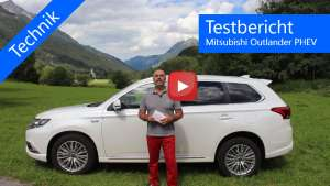 Mitsubishi Outlander PHEV Testbericht