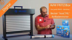 Becker boxCTRL Rollladenmotor DECT-ULE