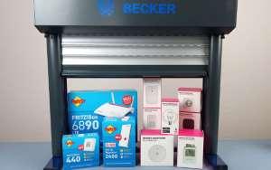 Smart Home Komponenten von AVM, Becker und Telekom Magenta